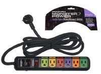 Monster Power Audio Video Power Protect AV600 Surge Protector