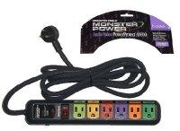 Monster Power Audio Video Power Protect AV600 Surge Protector