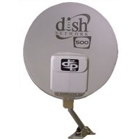 Dish Network Satellite Dish 500 (DishPro Twin LNBF)