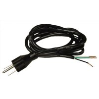 3 Wire AC Power Cord 5' ft
